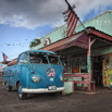 Grass Skirt Cafe - North Shore of Oahu by Christian Del Rosario